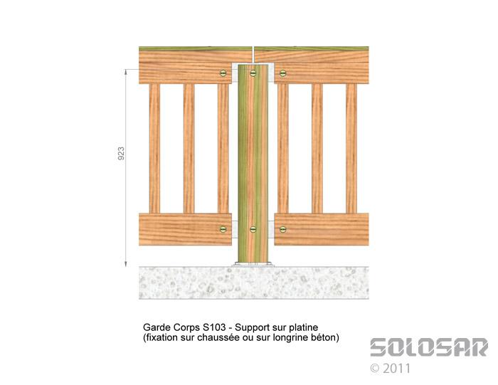 S103 - support sur platine